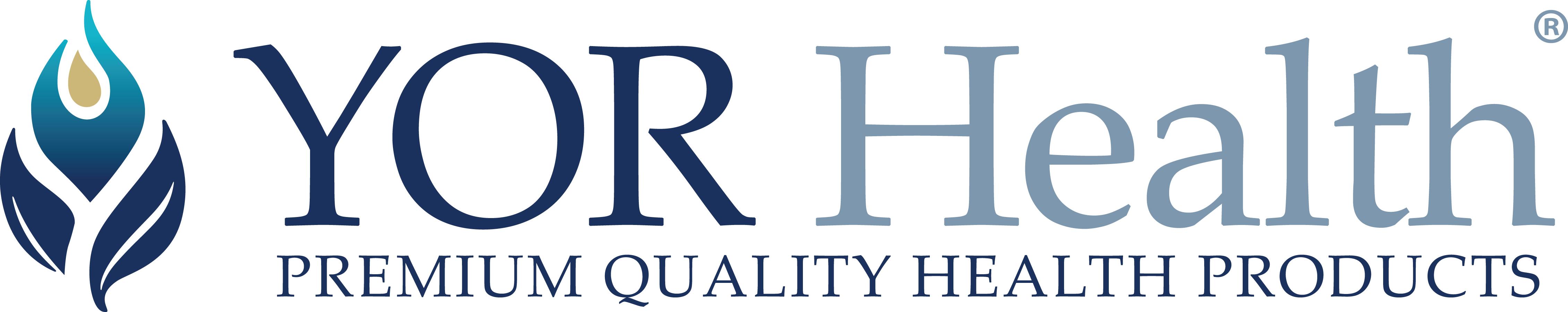 Yor health premium quality logo